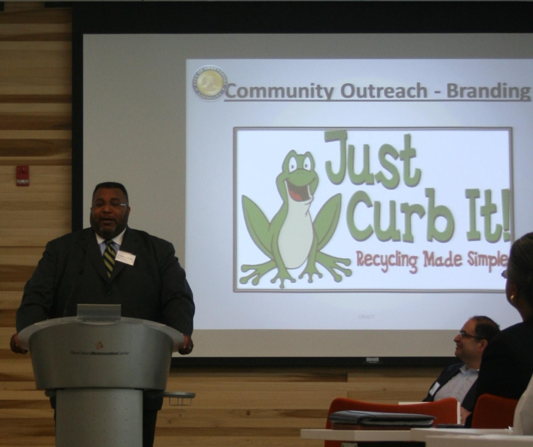 Presentation by the mayor of Shreveport.