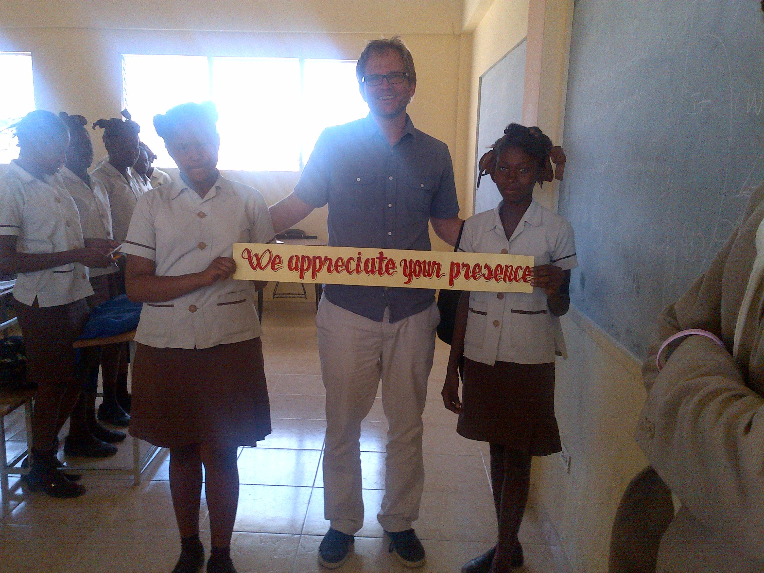 haiti_2012_matt_students_banner