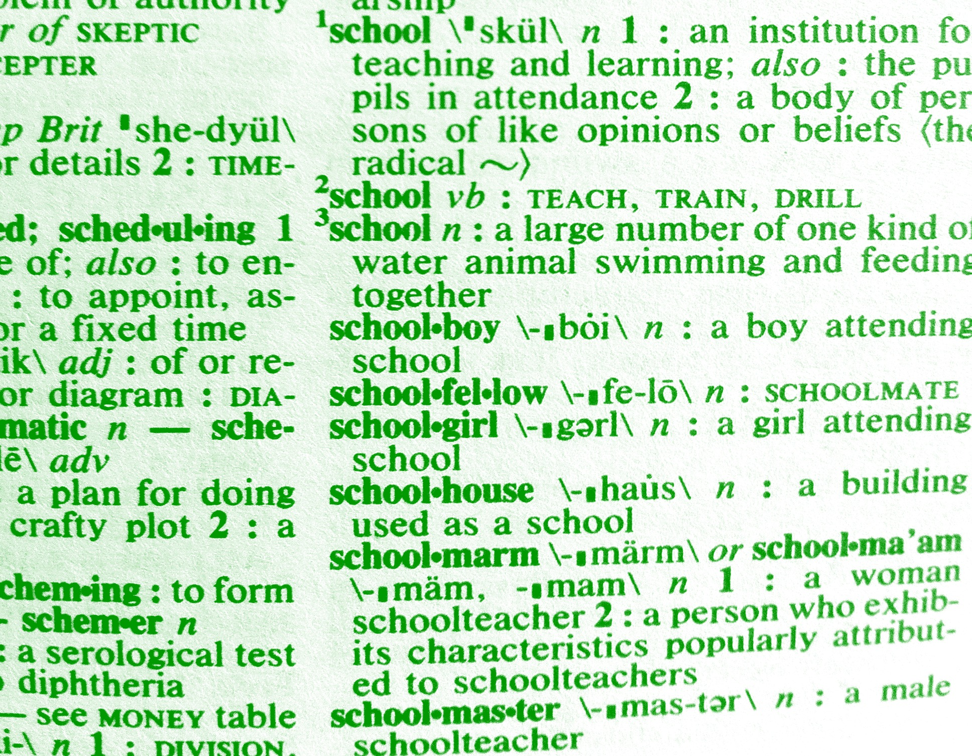 school_dictionary_greentype