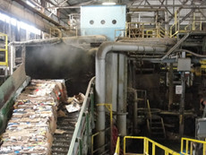 United Corrstack pic_conveyor belt with steam 2