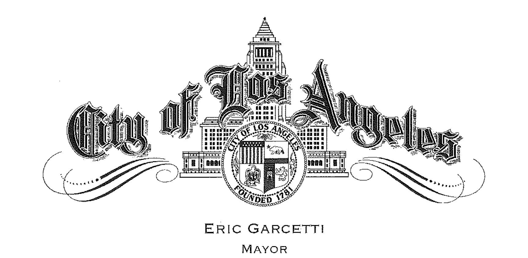 LA Mayor Letterhead