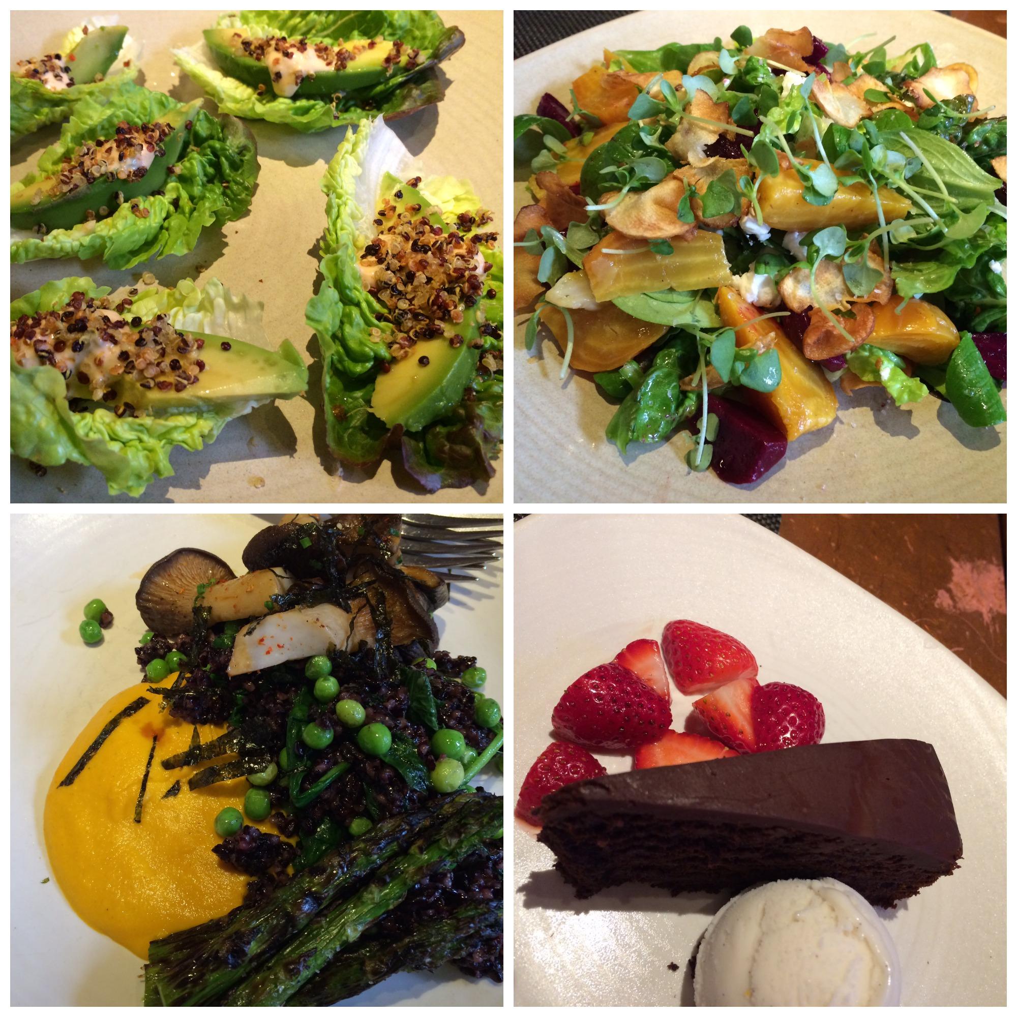 Plant-Based Dinner by Akasha