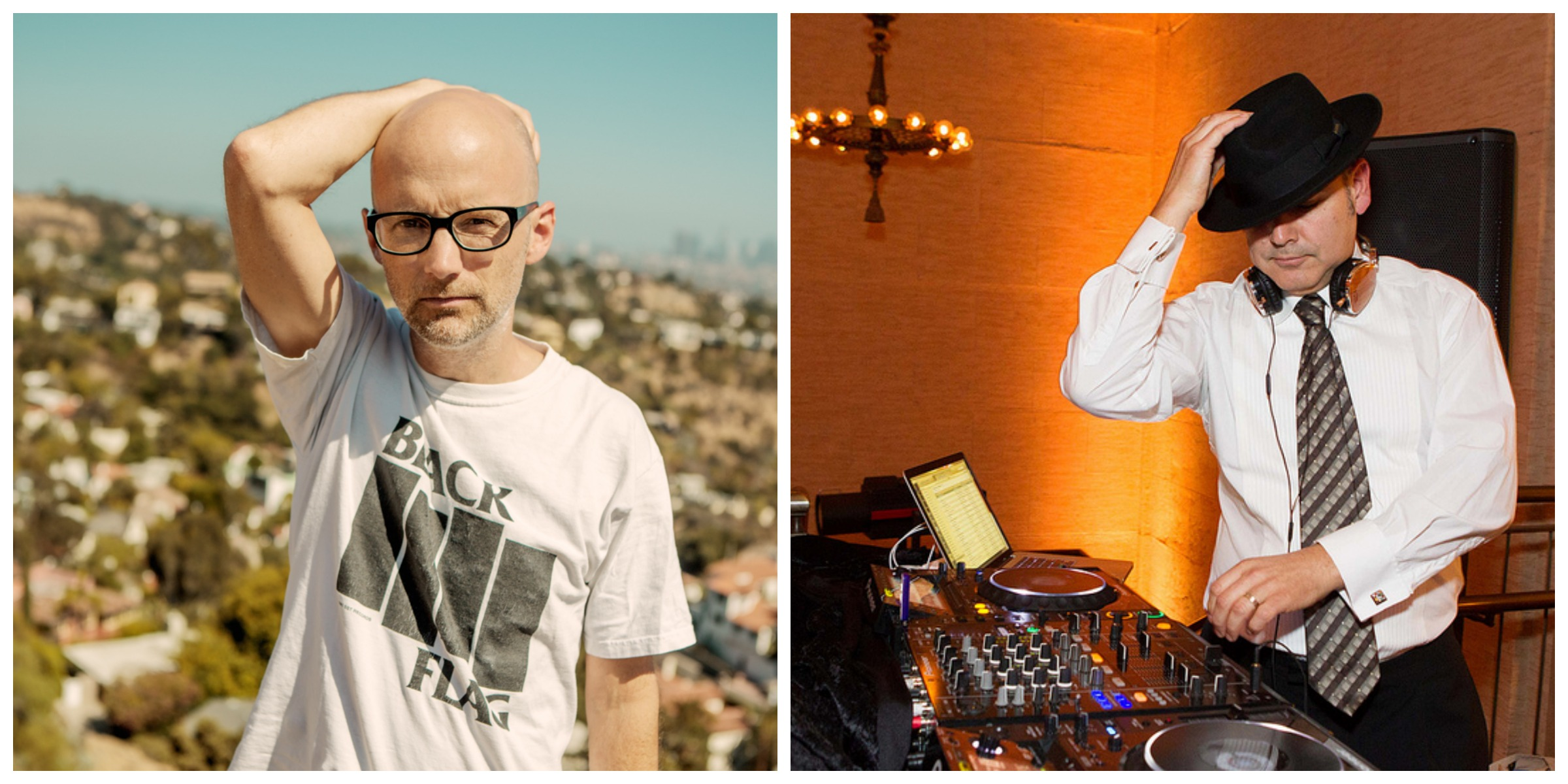 Moby The Crystal Method Global Green USA Pre-Oscar Party