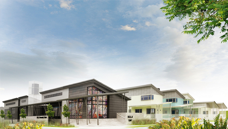 Holy Cross Project Community Development & Climate Action Center Rendering