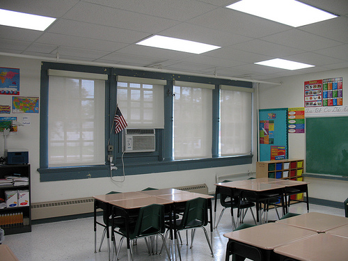 Gentilly Terrace green classroom