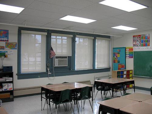 Gentilly Terrace green classroom