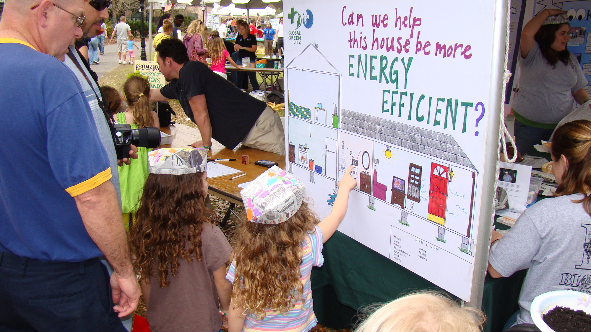 NOLA WIse energy efficiency program outreach