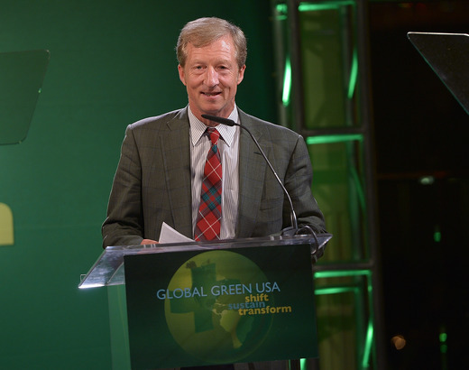 Philanthropist Tom Steyer, Co-Chair, Proposition 39  The California Environmental Leadership Award