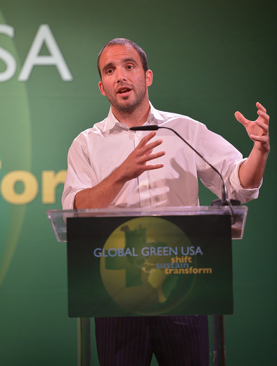 Ben Goldhirsh, CEO & Co Founder, GOOD Worldwide  The Community Environmental Leadership Award