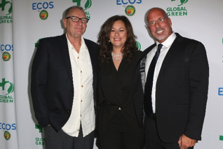 Ed O'Neill, Kelly Vlahakis-Hanks and Dr. Les McCabe