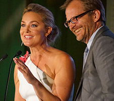Elisabeth Rohm and Matt Petersen