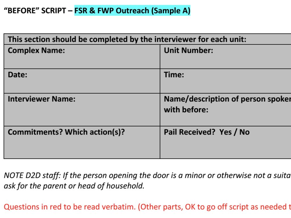 Pre-Survey (English)