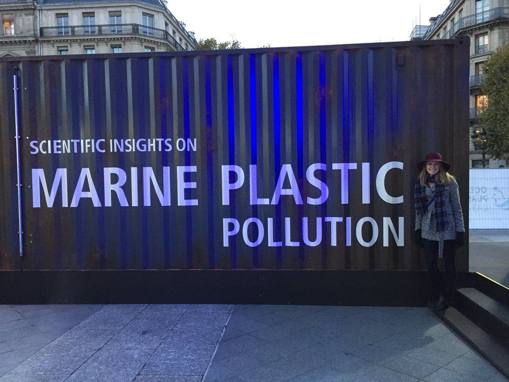 Look what I found while exploring the streets of Paris! This was an interactive exhibit on plastic pollution and ways to reduce your footprint. Just one of the many sustainability inspirations I found in the city.
