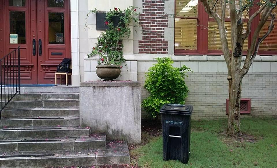Figure 3: Children's Resource Center, New Orleans Public Library (Compost NOW food scrap drop-off location)