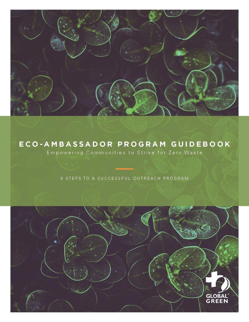 Figure 6: Eco-Ambassador Program Guidebook