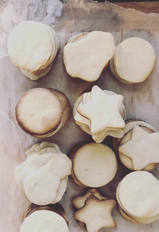 Easy-Peasy Shortbread Cookies - 4 ingredients.Not Vegan.Not Healthy.100% worth the butter.