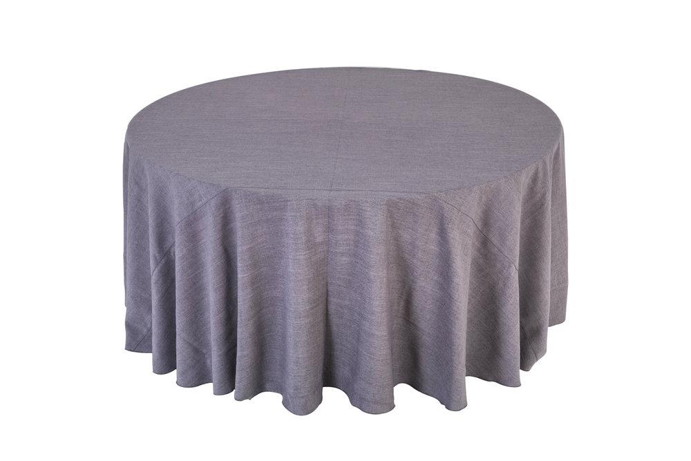 mantel lino gris