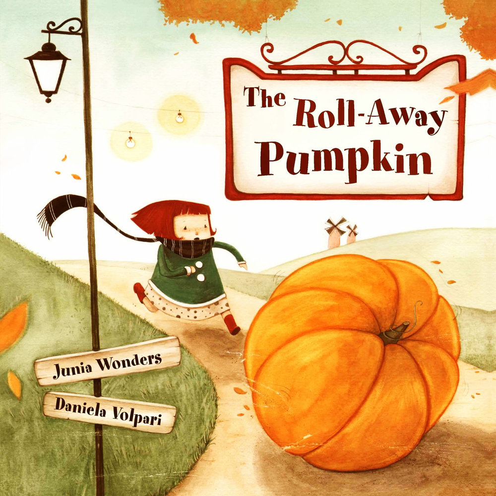 The Roll-Away Pumpkin - This book is not specifically a Halloween story, nor is it scary at all, but it does involve a very large pumpkin wreaking havoc as it rolls through the town. The illustrations in this picture book are quirky and delightful. If you are looking for a smile rather than a scream, pick up this little charmer.Click on the image for a full review of this title.