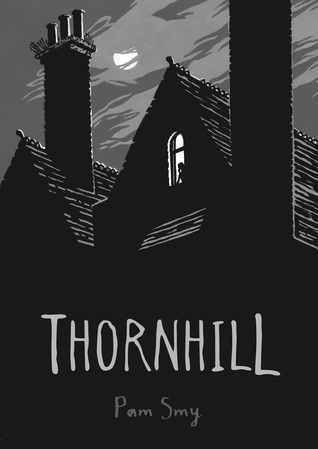 Thornhill - This is a great haunted orphanage story for enthusiastic readers and reluctant readers alike. It is a graphic novel that alternates between modern day and retro times to combine the day the orphanage closed with the new kid moving in next door. A thrilling read with illustrations that raise the bar. Not recommended for readers under 14.Click image for a full review.