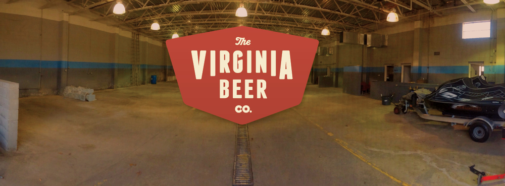 Front interior of 401 Second Street, future home of The Virginia Beer Company.