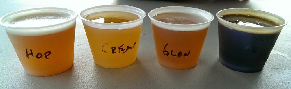 Linden Street beer lineup