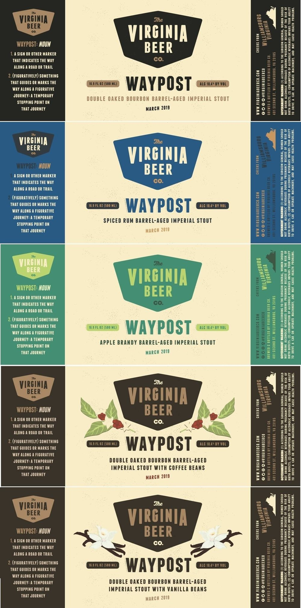 2019 Waypost Bottle Releases - 5 Variants. 2 Weekends. Live Music. Food Trucks.