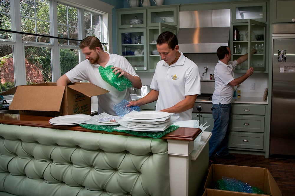 Big Easy's Moving also provides packing services. Call us today about pricing!