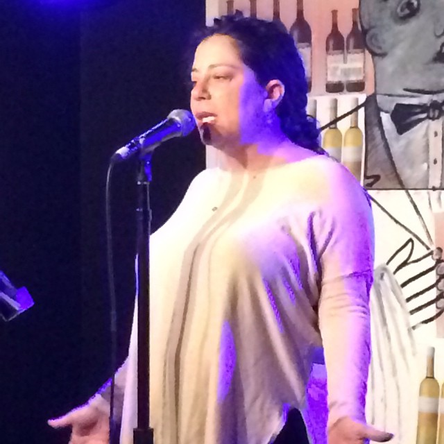 @amydklein shares a touching story about the trials and tribulations of getting pregnant at this past week's @yumsthewordshow #storytelling #stories #themoth #nycstorytelling #nyc #newyorktimes #fertilitydiary #motherlodeblog
