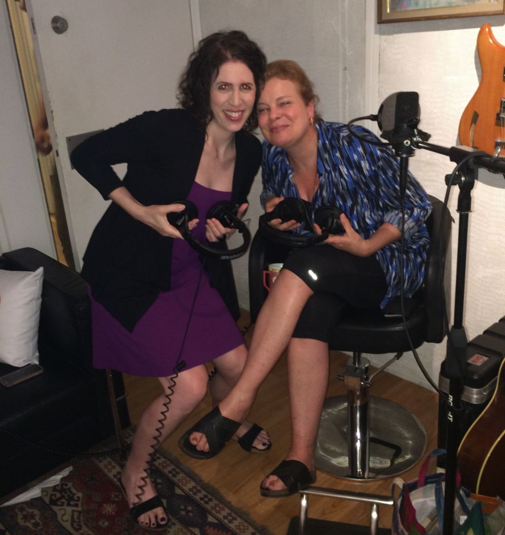 "Chatting in-studio with Cathy Curtin (C.O. Wanda Bell) from ""Orange is the New Black"""