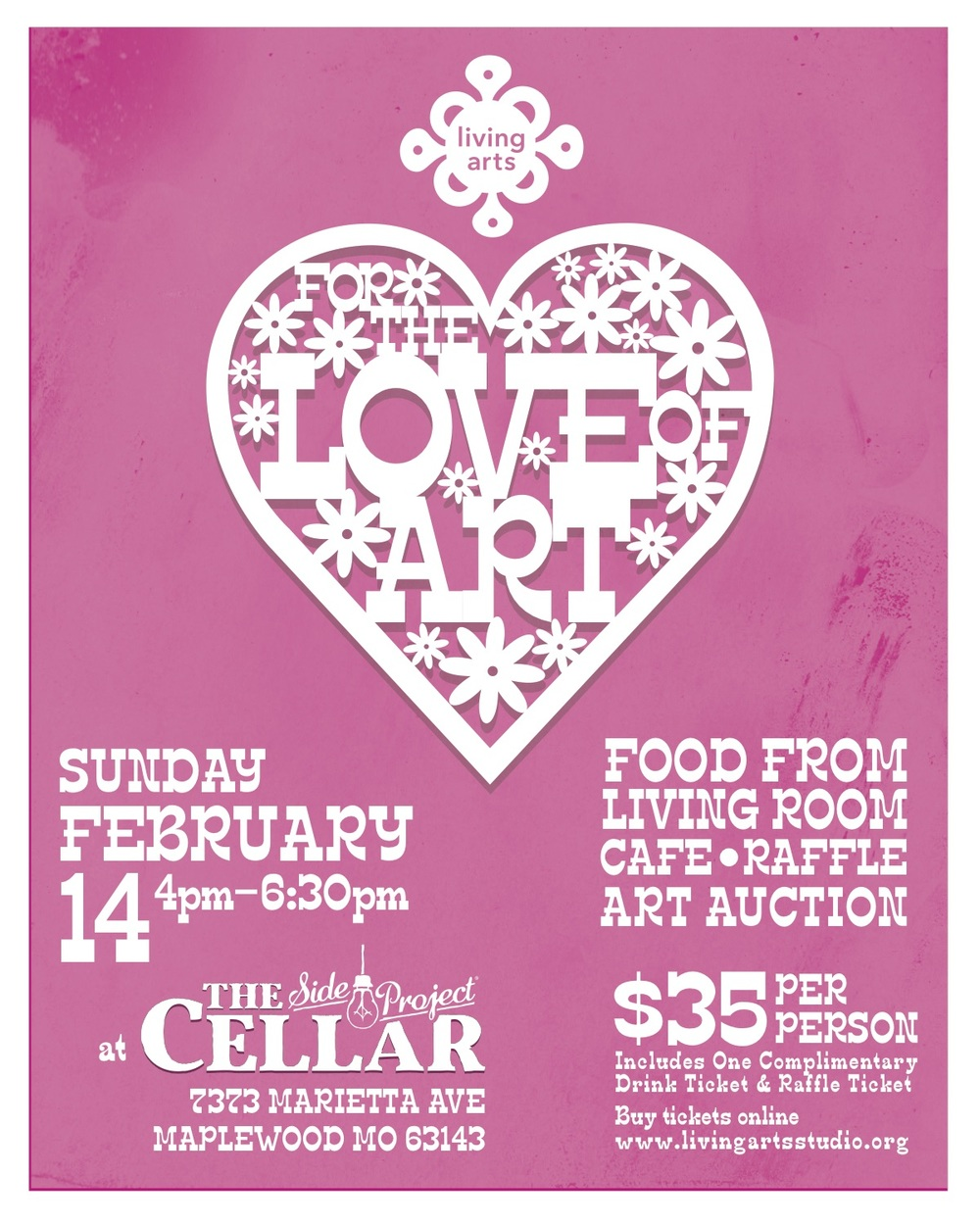For The Love Of Art Fundraiser