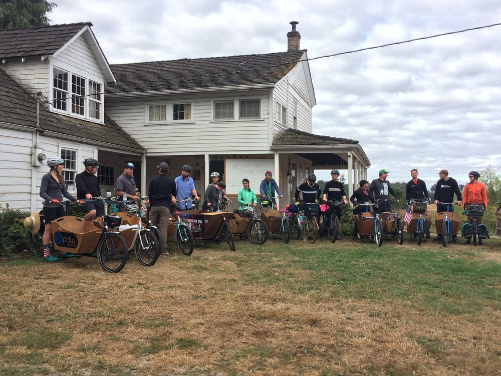 Beer, bikes and Oregon's bounty come together on 'Fresh Hop Century' - Bike Portland | September 2016