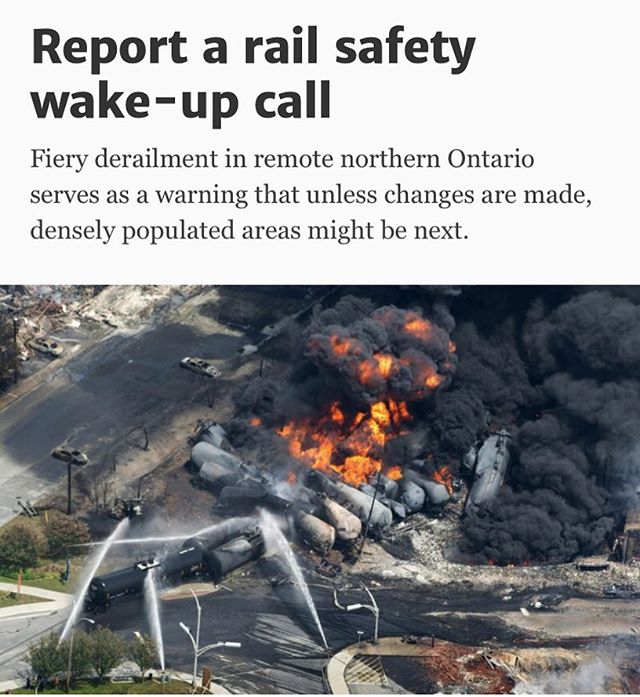 Thank you @thetorontostar for publishing our piece today. Link in bio 👆#railsafetyfirst