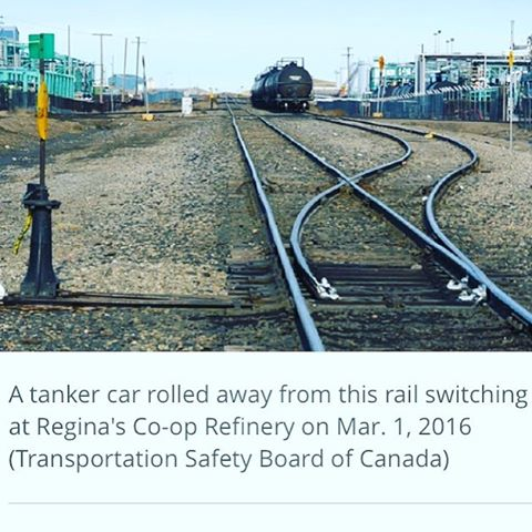 A Transportation Safety Board report says the circumstances that led to a railcar rolling out of control through the streets of Regina last year, passing through seven intersections, could have been prevented. Via  @cbc