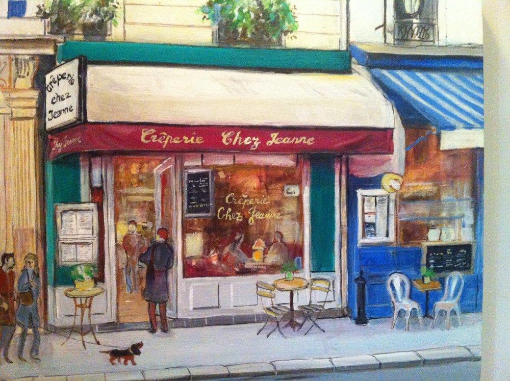 Chez Jeanne Creperie Paris Montparnasse