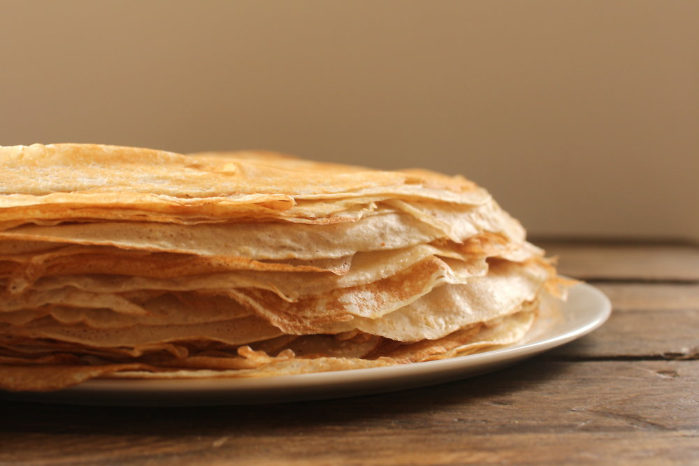 Pile of Crepes