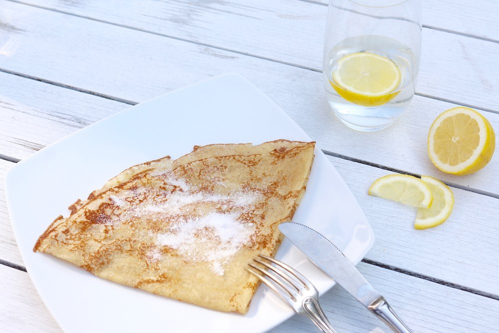 crepe butter sugar