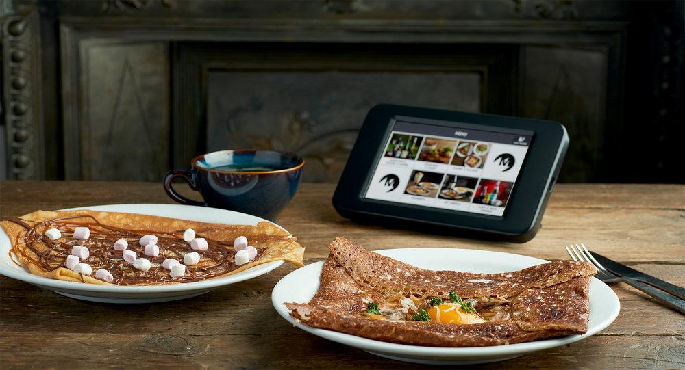 set menu tablet ordering system ipad