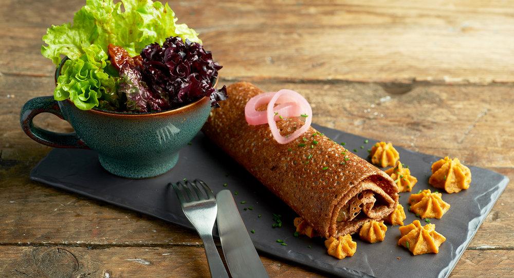 La Chateaubriand - MAMIE'S - galette saucisse