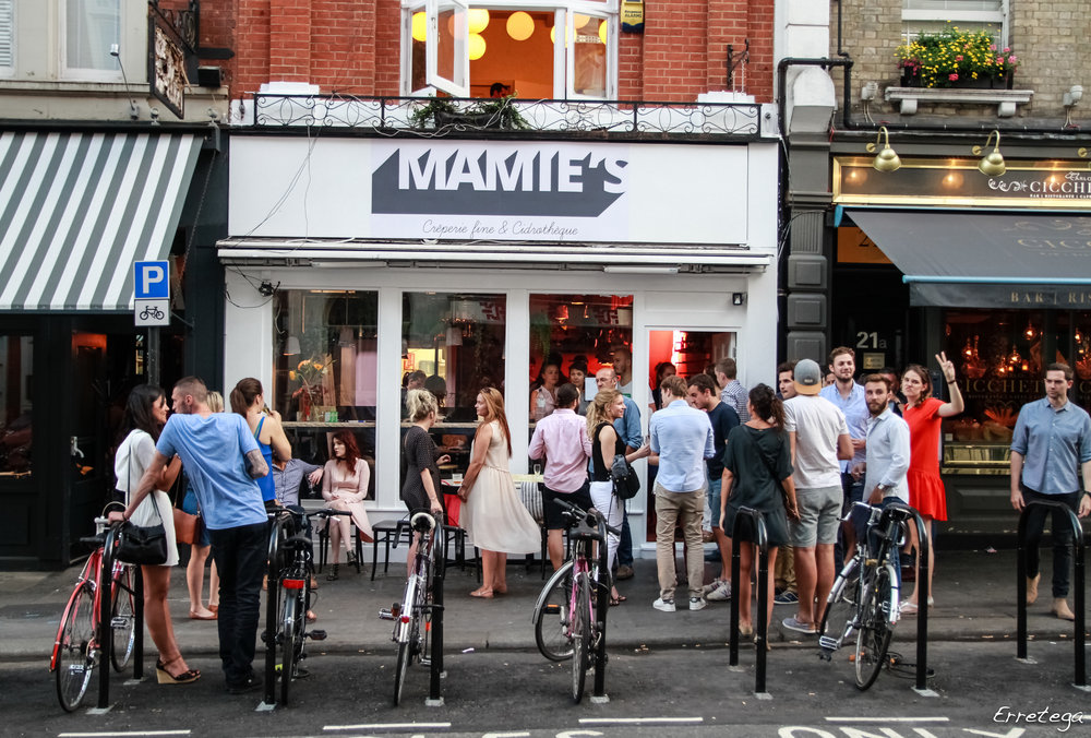 MAMIE'S Catherine street london covent garden