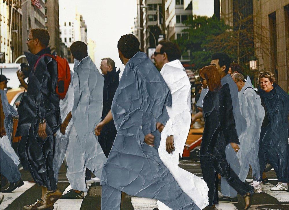 "5th Avenue  , 2011 Inkjet print on photo paper,5"" x 7"""