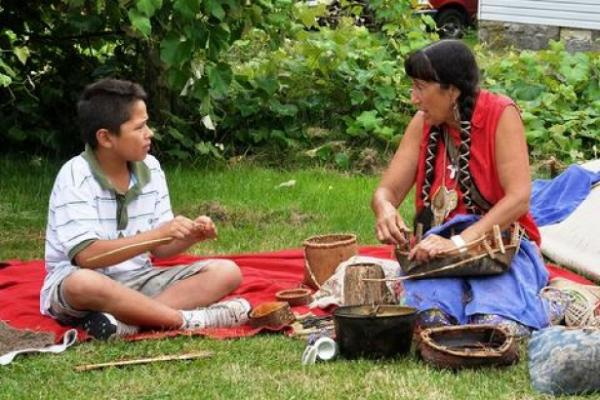 Annual Kanatsiohareke Mohawk community Strawberry Festival. (Photo courtesy of www.mohawkcommunity.com)