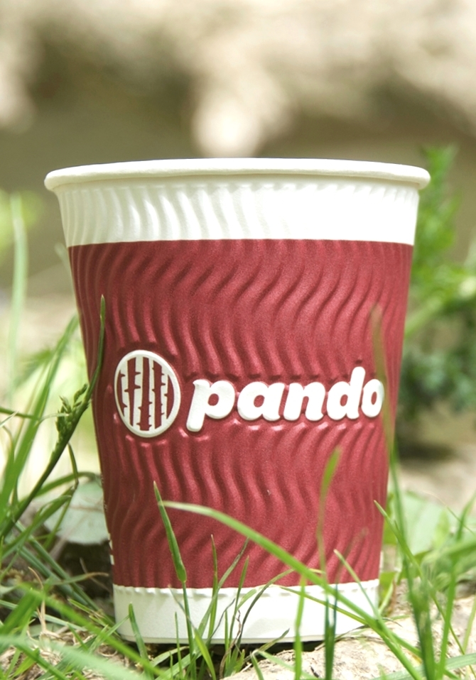 pando cup harmony hot cups green closeup