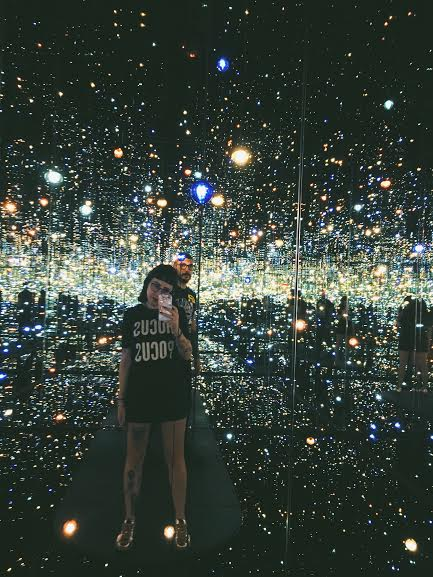 Round two of The Infinity Mirror Room - can't wait until these come to DC.