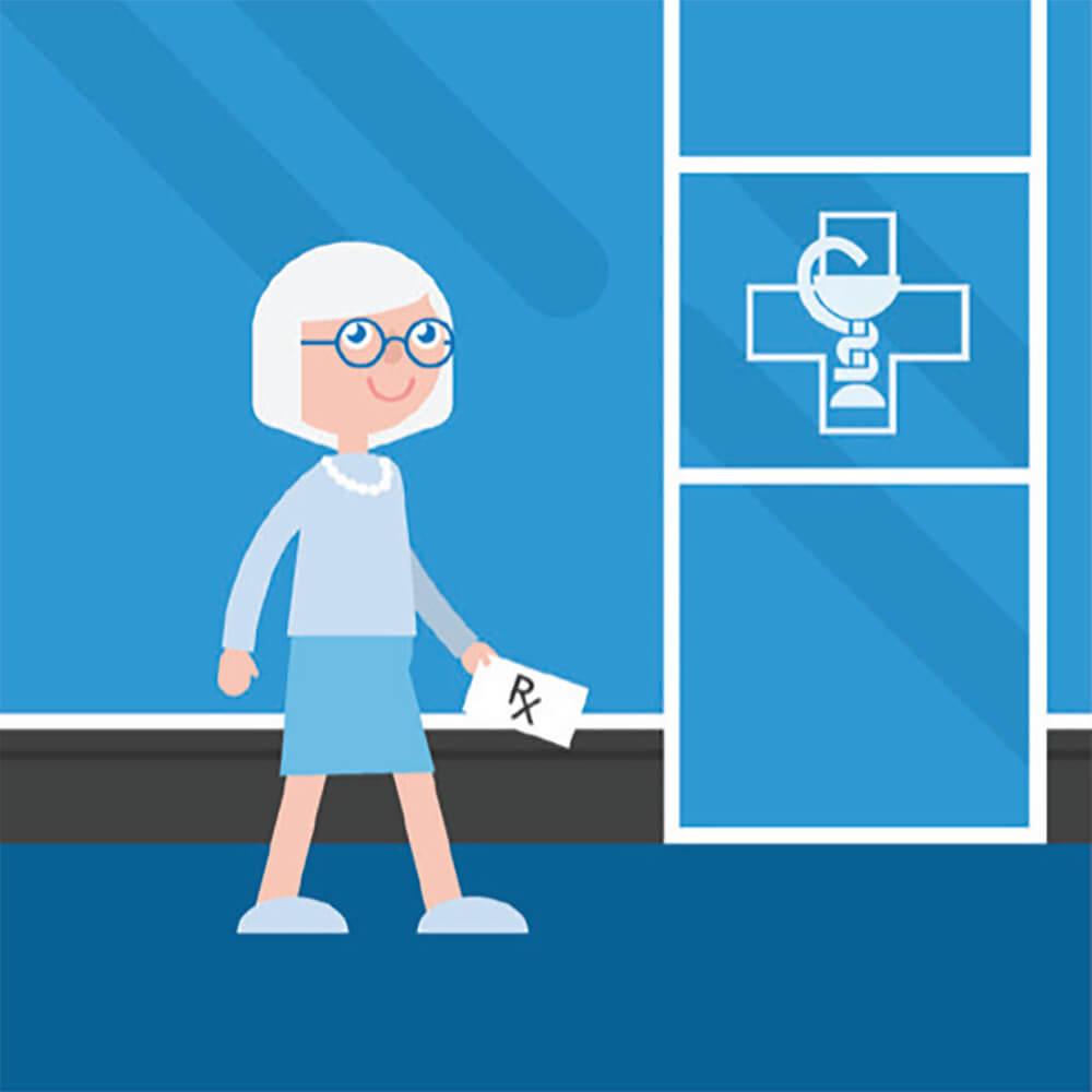 1. Installation - Muni d'une prescription, vous prendrez rendez-vous dans un point de service pour l'installation du moniteur CardioSTAT.