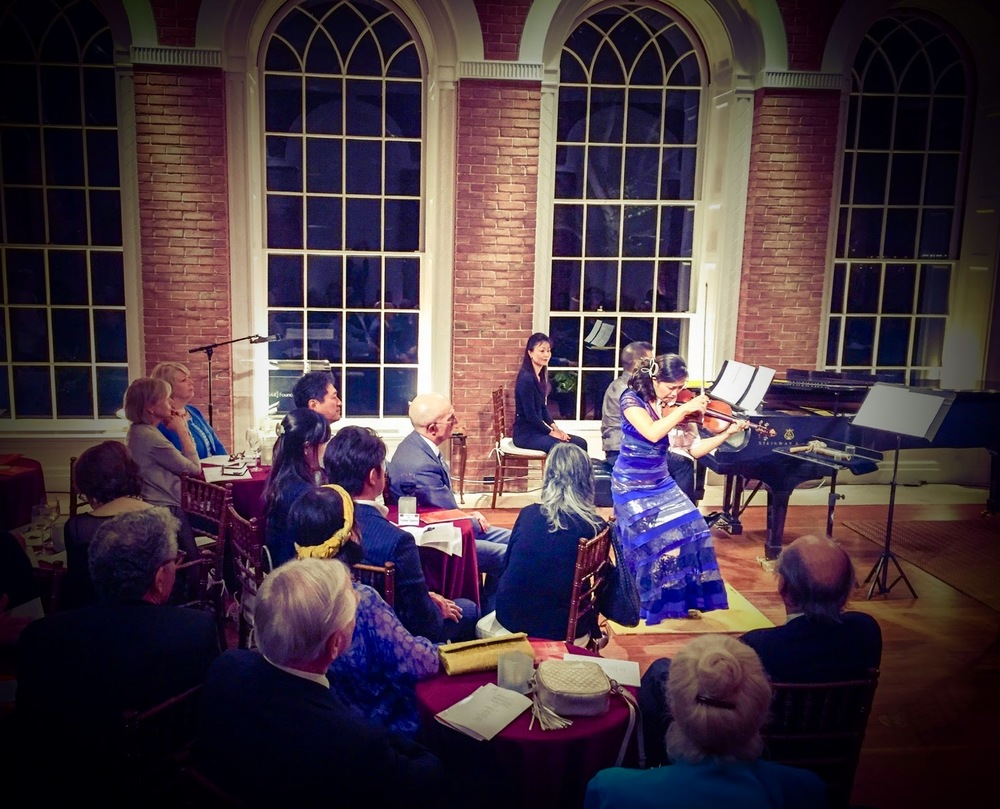Opening concert of Overtures Series of S&R Foundation at Evermay