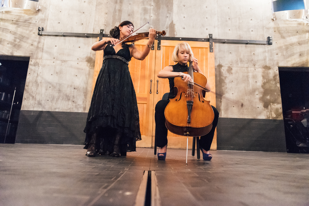 Char Presscott and Machiko Ozawa at RdV - Photo by Kate Warren