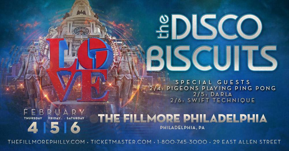 Darla will be sharing the stage with The Disco Biscuits on Feb. 5.
