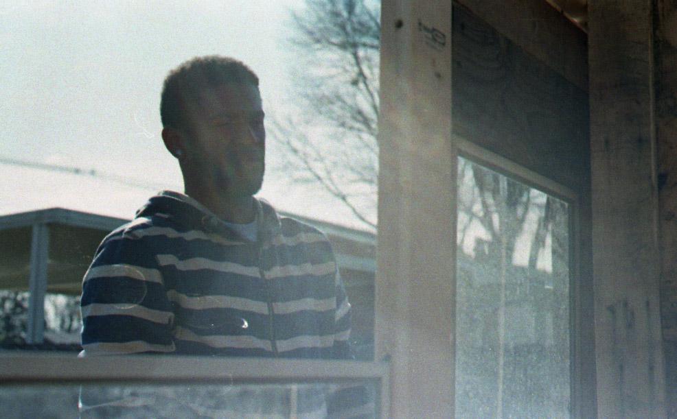 Mark.  Photo taken by Doree.  35 mm, C-41 film.