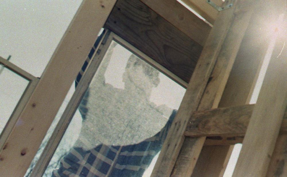 Inside.  Photo taken by Doree.  35 mm, C-41 film.