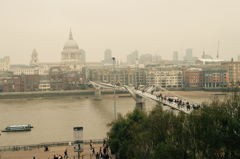Millennium Bridge - the bridge from Harry Potter